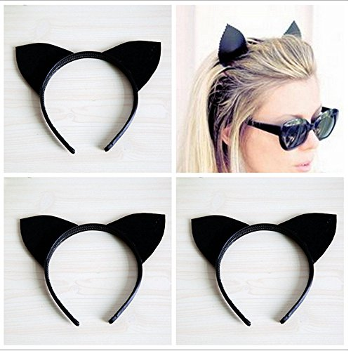 Dowager Glitter Cat Ears Headband Halloween Fancy Dress