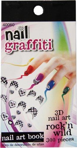 Amazon nail graffiti 300 piece 3d nail art sticker book beauty nail graffiti 300 piece 3d nail art sticker book prinsesfo Gallery