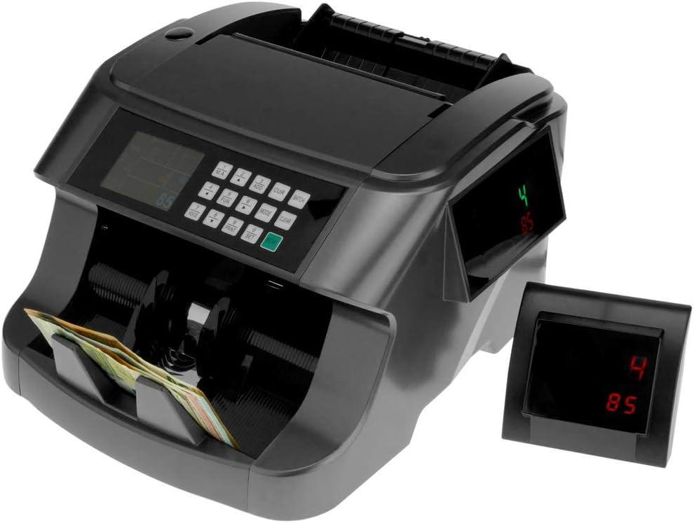 PrimeMatik - Contador y totalizador de Billetes y Detector de Billetes Falsos IR MG MT UV RGB