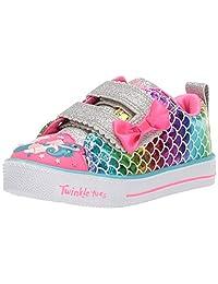 Skechers Baby-Girls Shuffle LITE-Mermaid Parade Sneakers