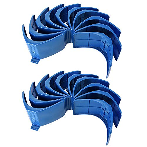 Snow Shop Everything 20pcs Dove Rest Stand Frame Grill Dwelling Pigeon Perches Roost Bird Supplies Blue Color