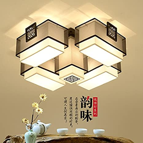 Chinese style living room ceiling Design Ideas Cttsb Ceiling Lamp New Chinese Style New Chinese Style Living Room New Chinese Style Creative Study Lightingso Cttsb Ceiling Lamp New Chinese Style New Chinese Style Living Room