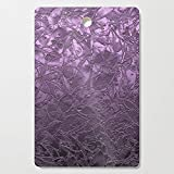 Society6 Wooden Cutting Board, Rectangular, Metal Grunge Relief Floral Abstract G166 by medusa81