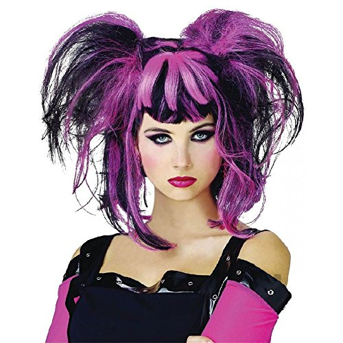 Punk Pixie Wig Costume Accessory Adult (Baseball Cutie Costumes)