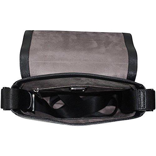HUGO BOSS Business Crossover Tasche Signature_NS-Flap, Black