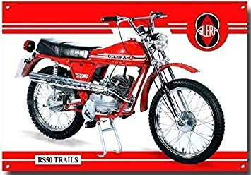 Gilera RS 50 Moped quality metal sign