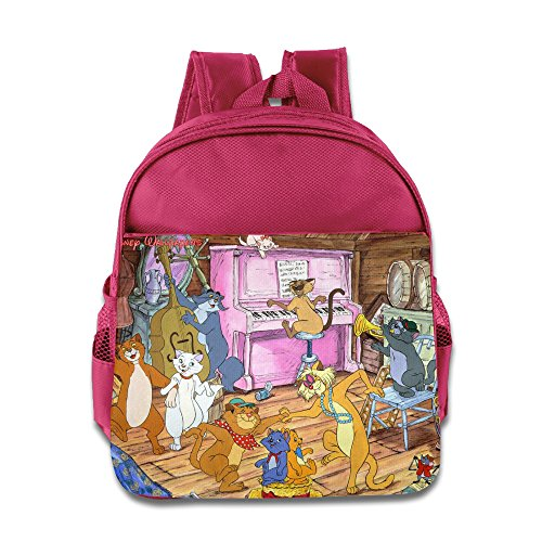 The Aristocats Cat Jazz Band Kids School Backpack Bag