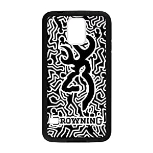 CMGOODS Art Browning Cutter Design Case Cover Sleeve Protector for Phone Samsung Galaxy S5 (Laser Technology)