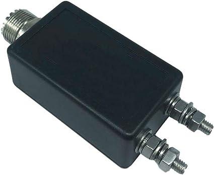 100W 1:1 HF antena de onda corta Balun QRP Mini interfaz de ...