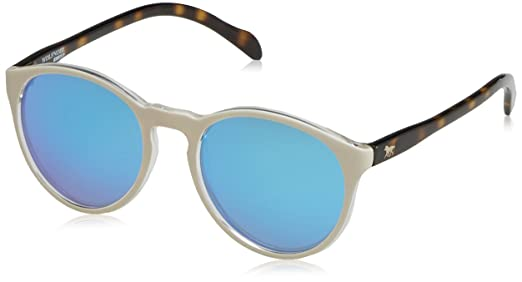 Unisex Adults Hathi Income Blue Sunglasses, Multicolour (Blanco / Azul), 45 Wolfnoir