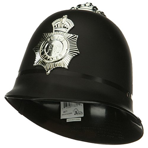 English Bobby Helmet Costume Accessory