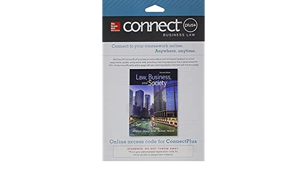 Amazon connect access card for law business and society amazon connect access card for law business and society 9781259511912 tony mcadams books fandeluxe Choice Image