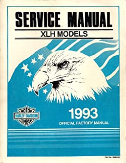 1993 harley davidson service manual for xlh models part no 99484 rh amazon com XLH Network 1975 Sportster XLH