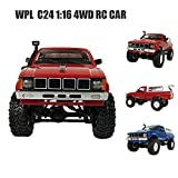 Kid Toys Youngh WPL WD 1:16 RC Crawler Military Truck Assemble Kit Remote Control Vehicle Toy