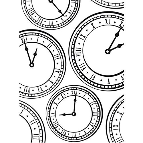 Darice Embossing Folder, 4.25 by 5.75-Inch, Clock Background (Sold By Amazon Llc compare prices)