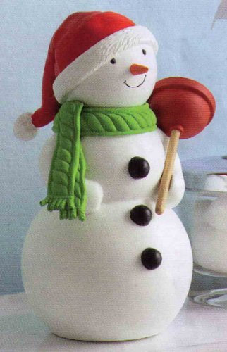 (Hallmark Jolly in the John singing and talking snowman )