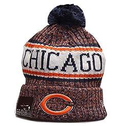 Aleys Fans Hats Winter Knit Cuffed Beani...