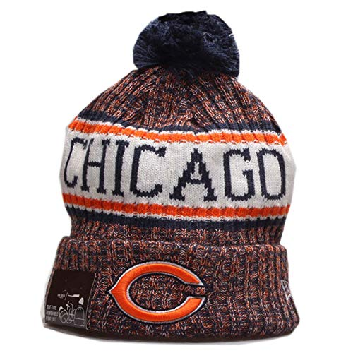 chicago bears hat winter - 4