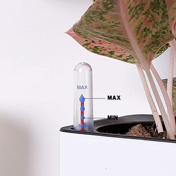 DOITOOL 4pcs Water Level Indicator Water Level Gauge Buoy Flower Pot Water Shortage Reminder Float Water Display Gauge for Garden House Plant