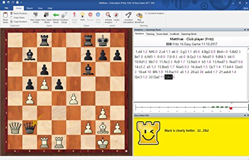 Fritz 16 Chess Playing Software Bundled with Fritz Powerbook 2019 Chess  Software