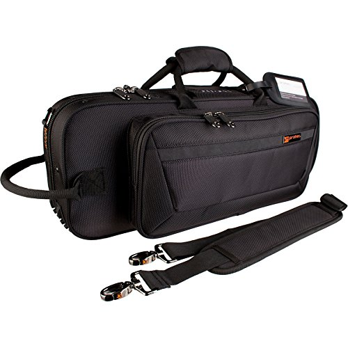 Protec Trumpet Contoured PRO PAC Case, Black, Model PB301CT