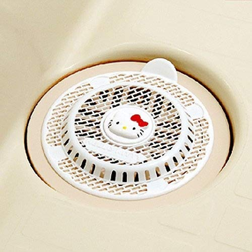 Hello Kitty pelo tap/ón colador de colector de pelo trampa para desag/üe de ducha pantalla ba/ño