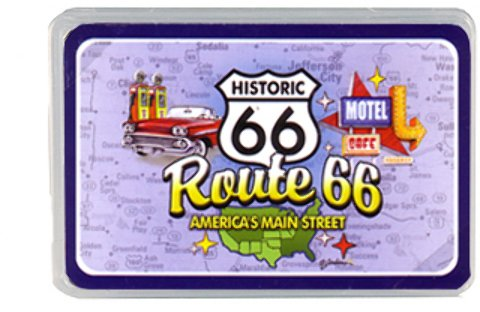Jenkins Enterprises 1936709 Route 66 Playing Cards Elements 24 DP - Case of 144 by Jenkins Enterprises