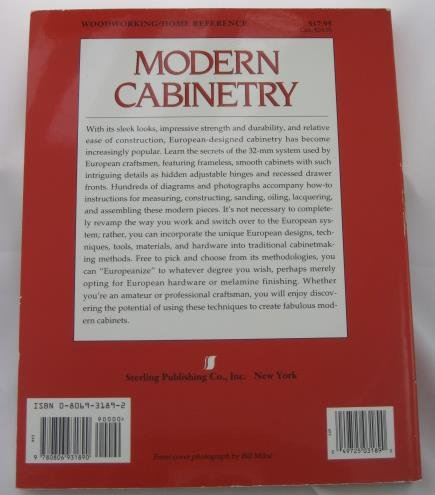 Modern Cabinetry: European Design & Construction Techniques