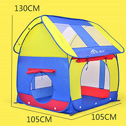 how to fold a happy camper play tent
