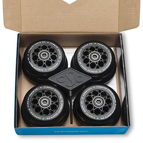 Cardiff Skate Co. S-Series S2 Skate Wheel Kit,