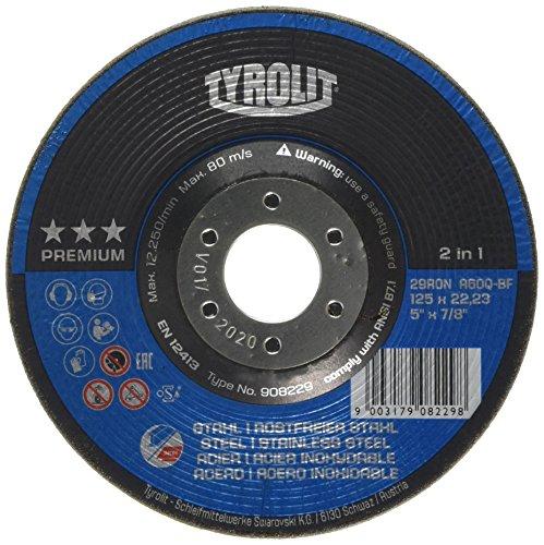 Tyrolit 908229 29RON RONDELLER, Abmessung 125x22,23,VE: 25 Stück