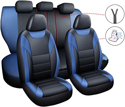 Universal Eco-Leather Full Set Car Seat Covers Mercedes Class E W210 W211