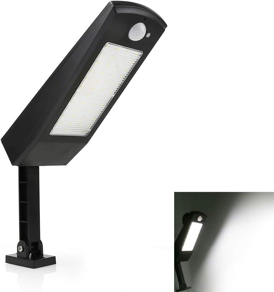 Solarleuchte 48LED Solar Lampe Bewegungsmelder Wandleuchte Gartenlampe Fluter