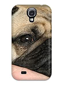 JBrjXBU8994SZZOe Anti-scratch Case Cover Valerie Lyn Miller Protective Pug Dog Case For Galaxy S4