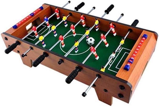 Creativa Futbolín Fútbol Competencia De Mesa Juego Puzzle Futbolín Interacción Entre Padres E Hijos Máquina De Juegos Sala De Deportes Mini Futbolín con Las Piernas La Experiencia de la Diversión del: Amazon.es: