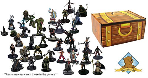 Dungeons and Dragons 25 Assorted D&D Miniatures Figures!, used for sale  Delivered anywhere in USA