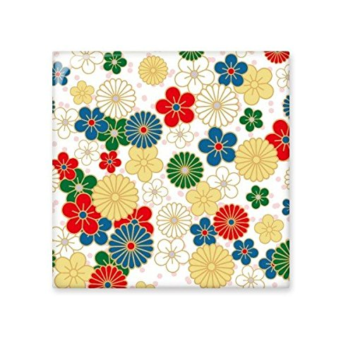 best Japan Culture Japanese Style Art Sakura Chrysanthemum Flowers Ukiyo-e Repeat Illustration Pattern Ceramic Bisque Tiles for Decorating Bathroom Decor Kitchen Ceramic Tiles Wall Tiles