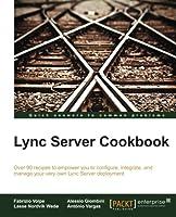 Lync Server Cookbook Front Cover