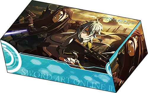 Sword Art Online II Kirito & Sinon Ver.A Card Game Character Deck Storage Box Collection SAO 2 Gun Gale GGO Anime Girl
