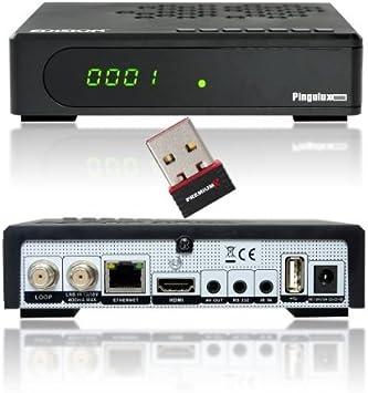 Edision argus pingulux mini HD Sat Receiver schwarz +: