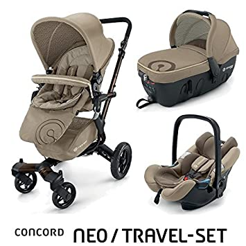 Amazon.com: Concord Neo Travel System Almond Beige Modelo ...