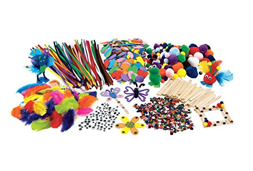 Colorations Classroom Crafting Starter Set (Item # CRAFTBOX)