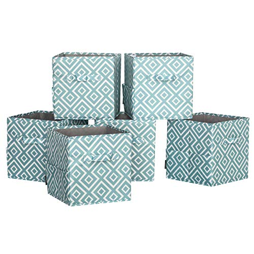 STORAGE MANIAC 6-Pack Foldable Storage Cubes Basket for sale  Delivered anywhere in USA