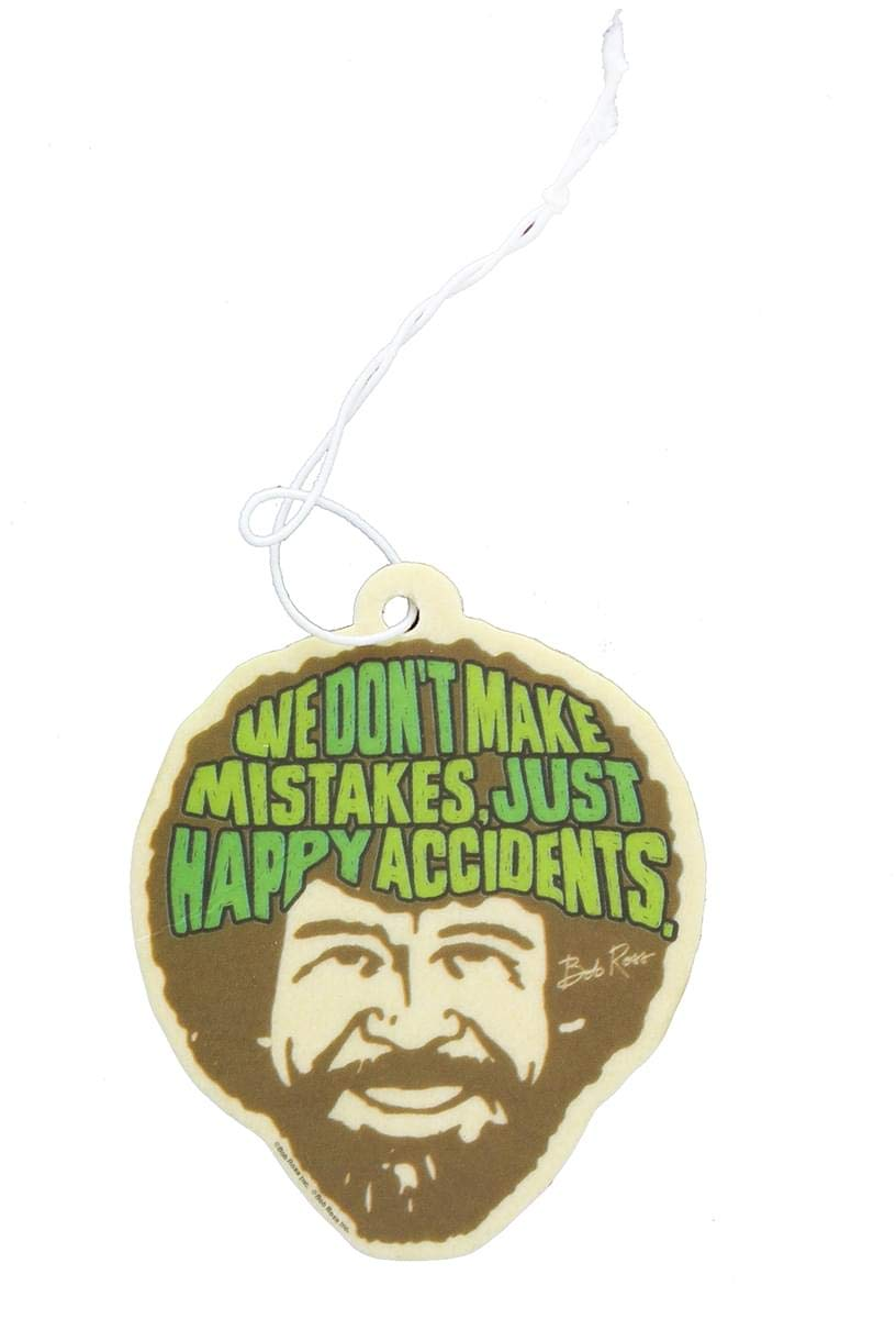 Bob Ross Air Freshener: Happy Accidents Hot Properties