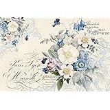 """Carta di Riso 48x33""""New England bouquet"""" DFS342 Stamperia"""