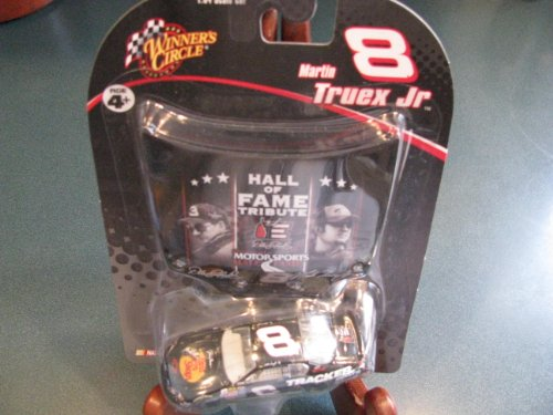 Busch Hood - Talladega 2006 Raced Win Version Martin Truex #8 Bass Pro Shop Tracker Boats Dale Sr Tribute International Motorsports Hall of Fame Winners Circle 1/64 Scale Diecast Raced Win Version (Busch Series) & Bonus Magnet Hood
