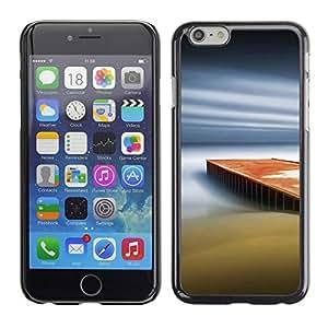 Paccase / SLIM PC / Aliminium Casa Carcasa Funda Case Cover - Dream Pier - Apple Iphone 6 Plus 5.5