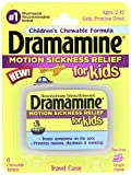 Dramamine Motion Sickness Relief for Kids, Grape Flavor,8 Count per Pack (8 Pack)