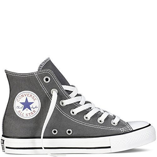 Converse Unisex Chuck Taylor As Specialty Hi Lace-Up, Grigio (Charcoal), 38.5 EU B(M) Donne/38 EU (M) Uomini