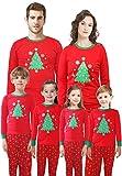 Family Matching Christmas Santa Claus Pajamas 2 Piece Set Sleepwear for Women Mum Size XXL